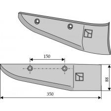 Socs pour arracheuses de betteraves, modèle droit - Stoll - 023 806