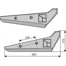 Socs pour arracheuses de betteraves, modèle droit - Moreau - AS475SD