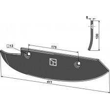 Soc pour arracheuses de betteraves, modèle gauche - Barigelli - 40302020