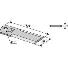 Couteau broyeur de paille - John Deere - Z 48237