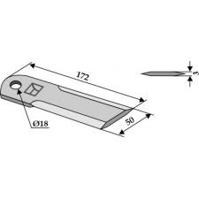 Couteau broyeur de paille - John Deere - Z 35221