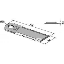 Couteau broyeur de paille - John Deere - Z 75875