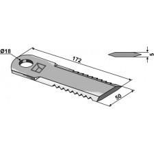 Couteau broyeur de paille - John Deere - Z 42176
