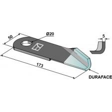 Couteau broyeur de paille droite - DURAFACE - New Holland - 87384920