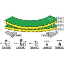 Kit-lames de scie - John Deere - LCA78866