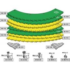 Kit-lames de scie - John Deere - LCA79039