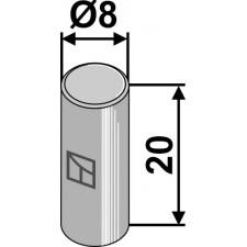 Goupille cylindrique pour Nimco