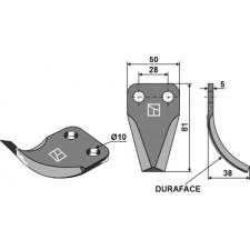 Couteau pour mélangeurs de fourrage - Kverneland - KDM 4120200951