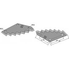 Couteau pour mélangeurs de fourrage - JF-Stoll - 811380034 / 1380-0034