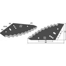Couteau pour mélangeurs de fourrage - AG005675