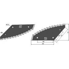 Couteau pour mélangeurs de fourrage - AG005673