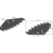Couteau pour mélangeurs de fourrage - Shelbourne-Reynolds - 61481202