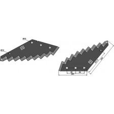 Couteau pour mélangeurs de fourrage - Strautmann - 09660903510