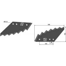 Couteau pour mélangeurs de fourrage - Kuhn - A5335150