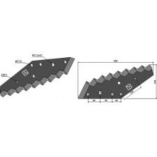 Couteau pour mélangeurs de fourrage - Kuhn - A5335160