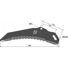 Couteau d'ensilage - Pöttinger - 434.053 / 434.072