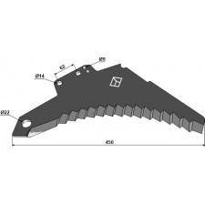 Couteau d'ensilage - Strautmann - 488.17.504
