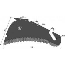 Couteau d'ensilage - Strautmann - 410.17.502