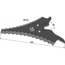Couteau d'ensilage - Strautmann - 504.36.501 - 504.36.507