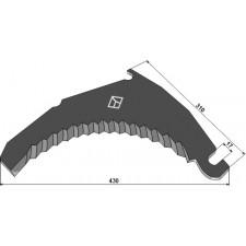 Couteau d'ensilage - Bergmann - 002276B