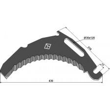 Couteau d'ensilage - Bergmann - 002777B