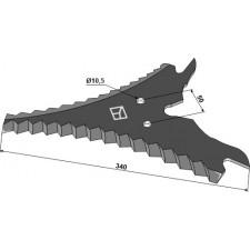 Couteau d'ensilage - Strautmann - 732.36.500