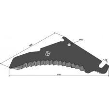 Couteau d'ensilage - Bergmann - B021011