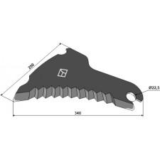 Couteau d'ensilage - Claas - 920.497.0