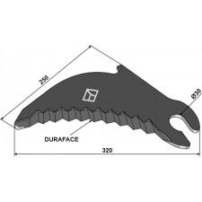 Lame de presse à balles DURAFACE - New Holland - 84058219