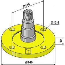 Bride de palier avec axe - AG006853