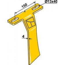 Racloir pour support à disque avant - AG007440