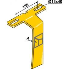 Racloir pour support à disque arrière - AG007439