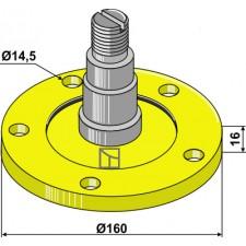 Bride de palier avec axe - AG006486