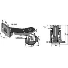 Palier avec tige - modèle droit - Great Plains - 601-012S