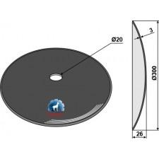 Disque lisse Ø300x3 - AG006798