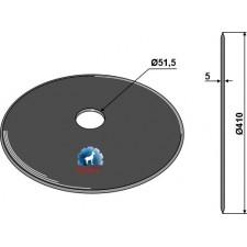 Coutre circulaire Ø410x5