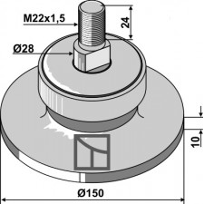 Palier - AG013150