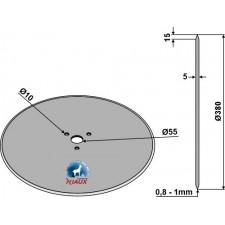 Coutre circulaire Ø380x5