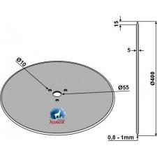 Coutre circulaire Ø400x5