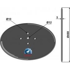 Coutre circulaire Ø460x5 - AG006071