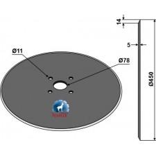 Coutre circulaire Ø450x5