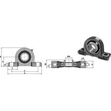 Chaise palier UCP - Ø65