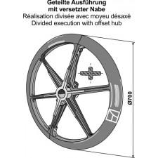 Roue packer - Ø700mm - AG007502