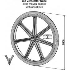 Roue packer - Ø900mm - AG007487