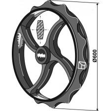 Roue cambridge - Ø600mm - Dal-Bo - 15394