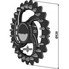 Roue crosskill - Ø530mm - Dal-Bo - 18102