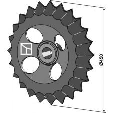 Roue dentée - Ø450mm - Güttler - 75408000