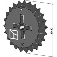 Roue dentée - Ø450mm - Güttler - 75406000