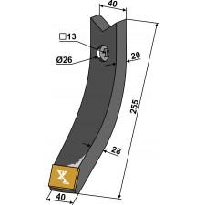 Pointe - Carbure - Farmet Turbulent - 4007998