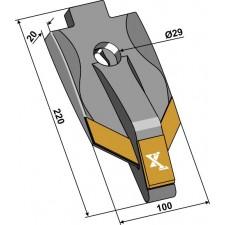Pointe - Carbure - Komet - 1092.229 / 10-92.344
